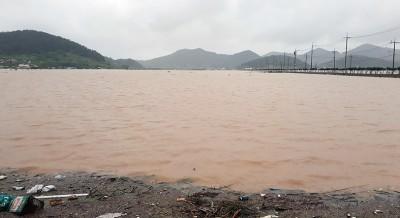 집중호우로 진도군 240여억원 피해 집계…역대급 물난리